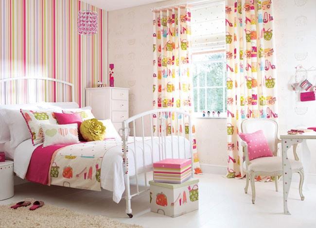 Вариант оформления спальни для девочки