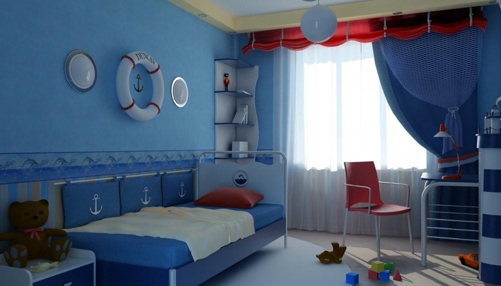 Вариант дизайна для детской
