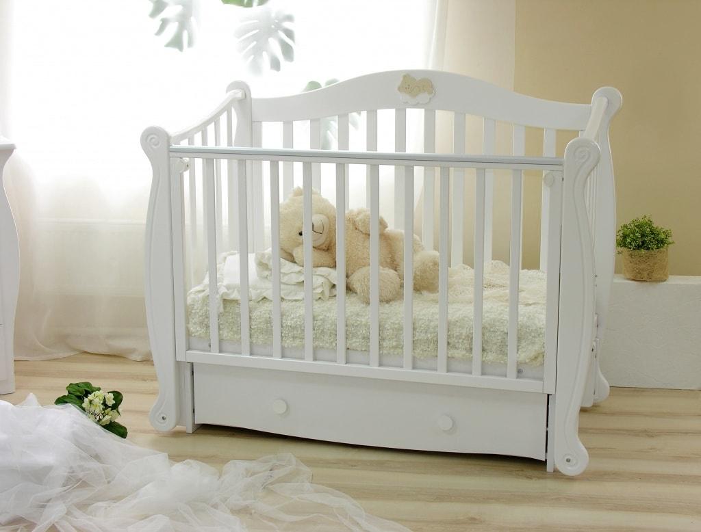Вариант кроватки для новорожденного