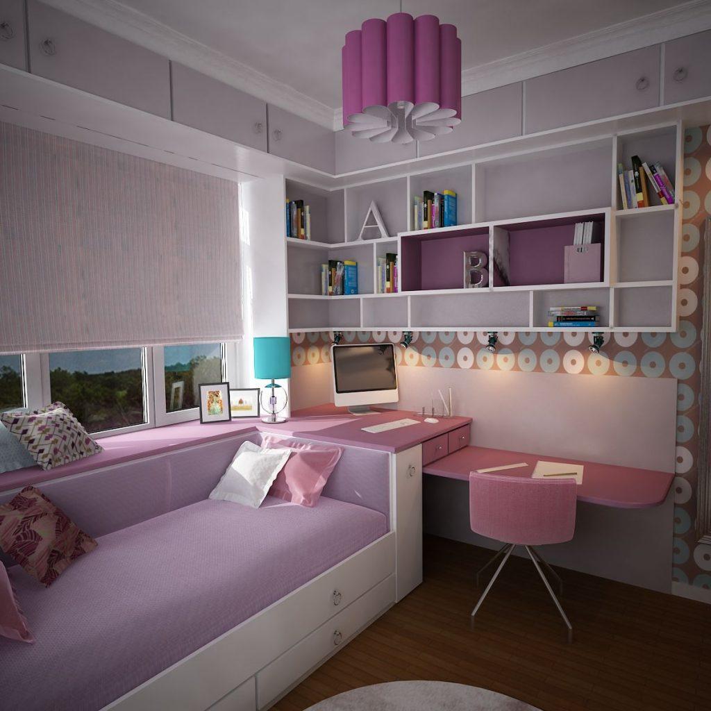 цветовые решения для комнаты девочки
