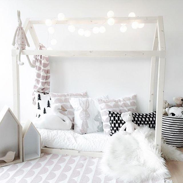 кроватт домик белая