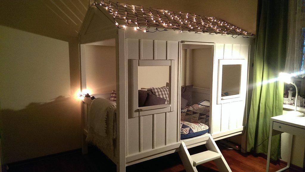 кровать-домик для ребенка