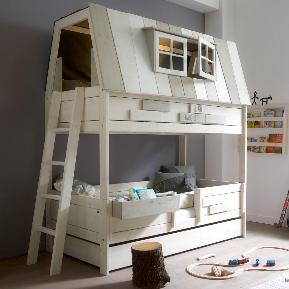 высокая кроват-домик для ребенка