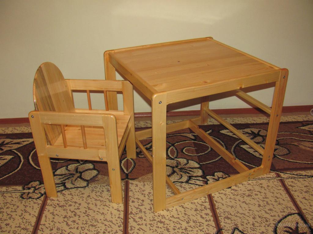 Детский стол стул своими руками фото 644