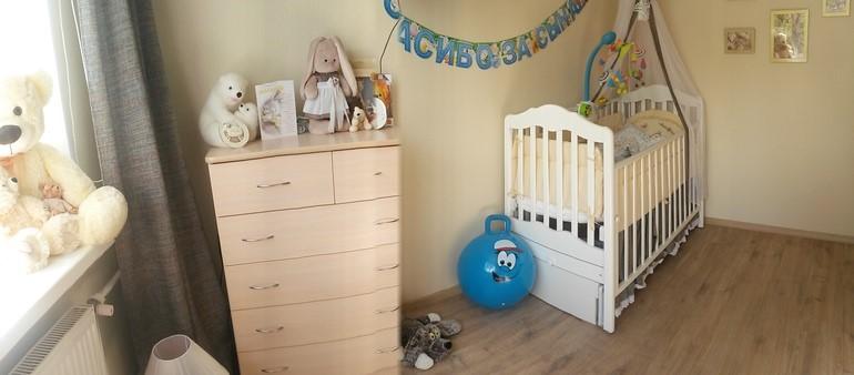 зонирование комнаты новорожденного