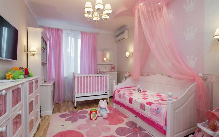 розовая комната для младенца