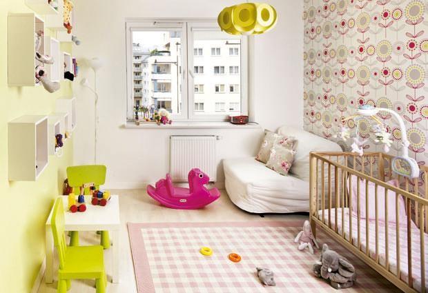 комната для малыша и родителей