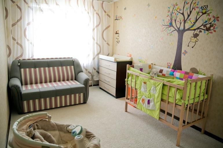 фотообои в спальне ребенка