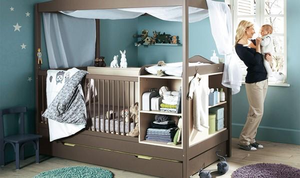 многофункциональная кроватка