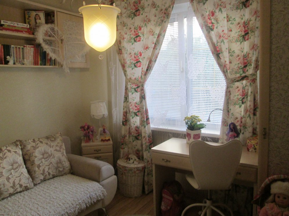 оформление комнаты девочке