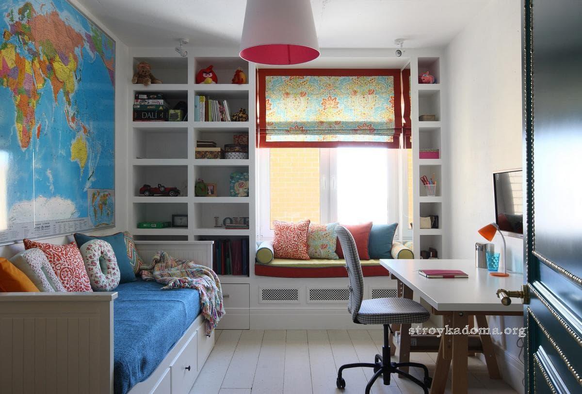 Комнаты для подростков мальчиков и девочек в современном стиле. 10 идей для оформления комнаты подростков