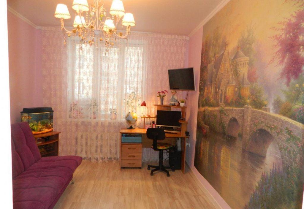 комната девочке в фиолетовых тонах