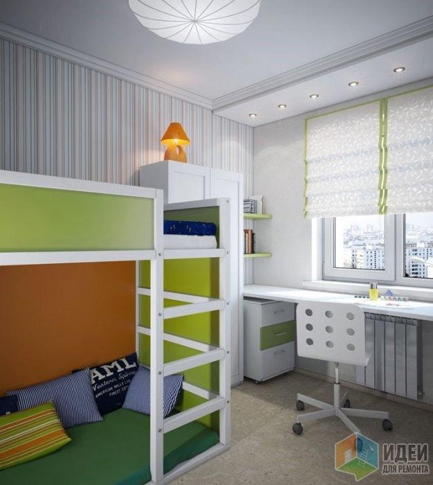 Стол письменный для двоих детей школьников вдоль стены: Письменный стол для двоих детей-школьников (30 фото