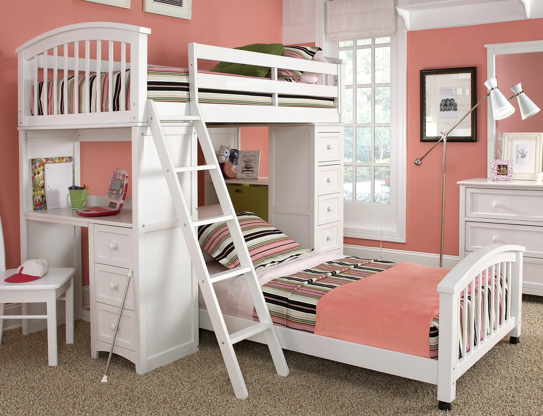 дизайн комнаты для двух девочек 7
