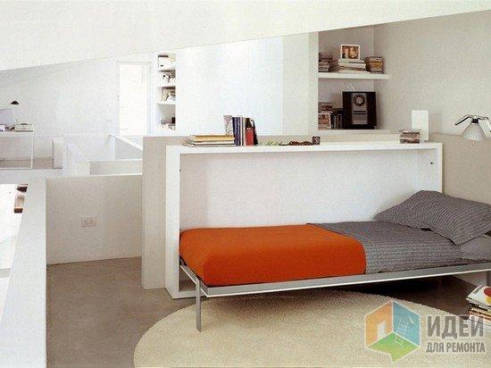 Комфортная широкая кровать