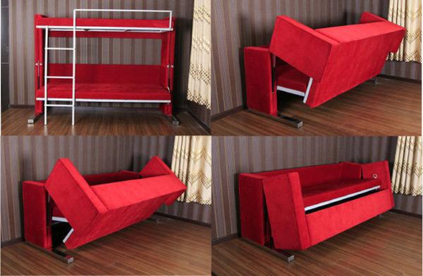 двухэтажная кровать-диван