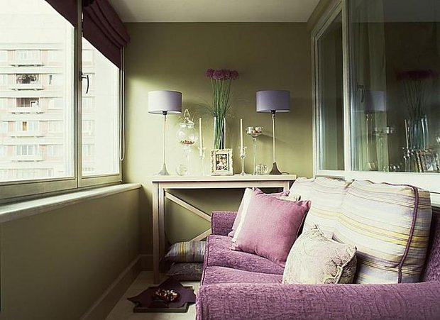 балкон в однушке
