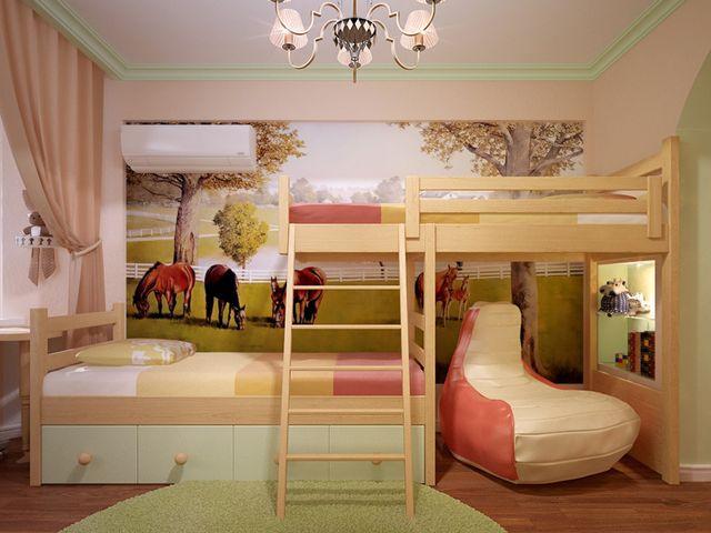 кроват в однокомнатной квартире