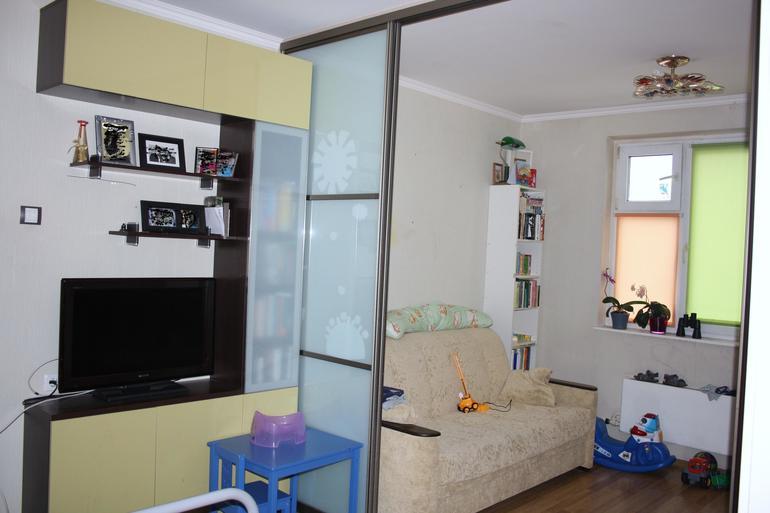 ширма в однокомнатной квартире