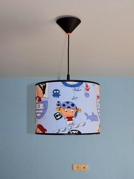 декор светильника в детской