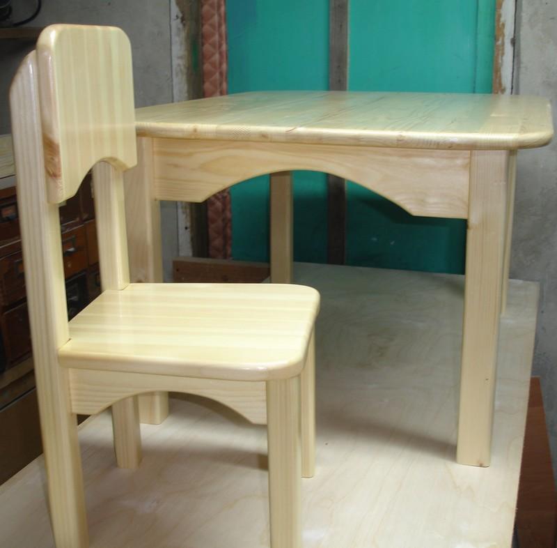 Детский стол и стулья своими руками 631