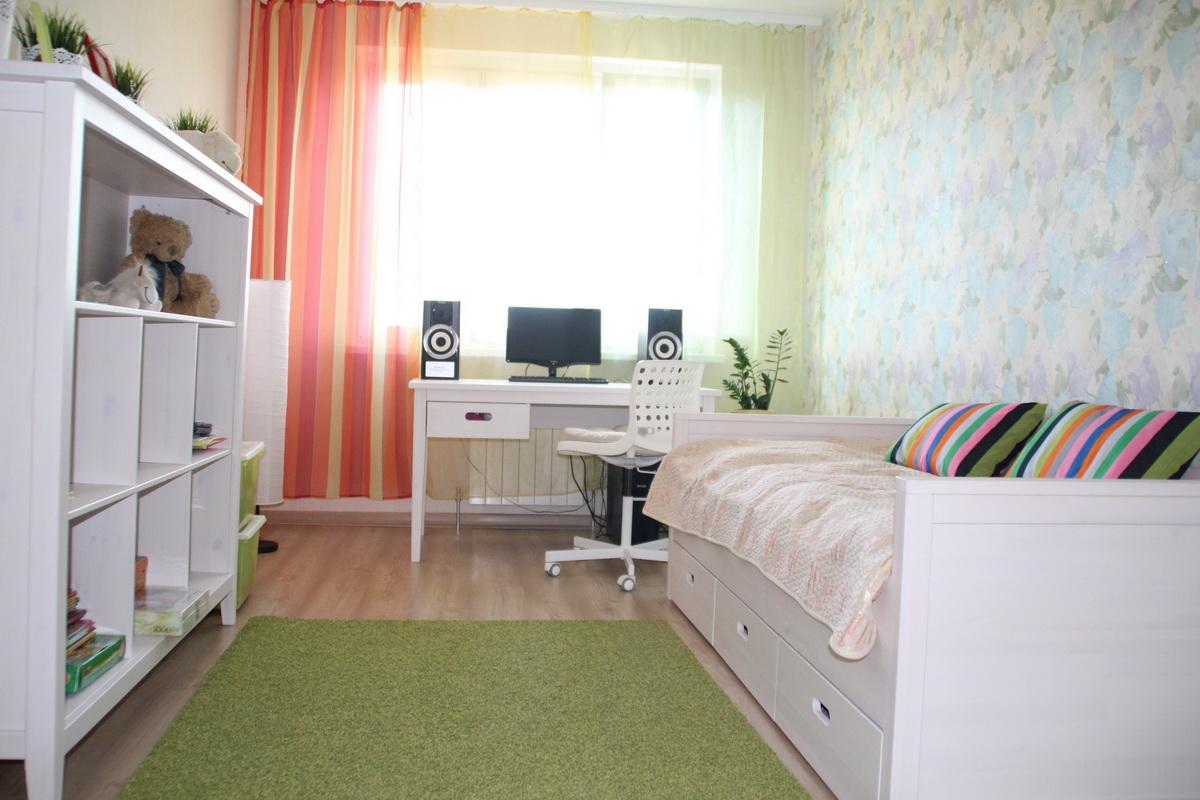 детская 148 кв м для девочки 7 лет с деревянной мебелью 11